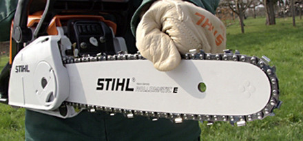 How to tension your saw chain properly stihl stihl step 13 of 14 then check that you have not overtightened the chain pull keyboard keysfo Choice Image