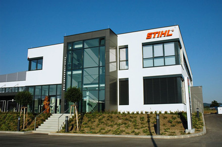Energy efficiency and generation STIHL Austria